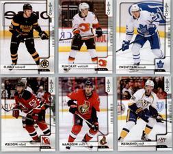 2017-18 O-Pee-Chee Hockey - Base Set Cards - Choose From Car