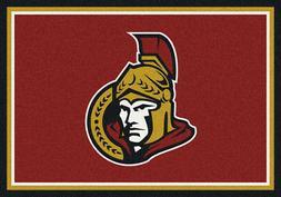 5x8 Milliken Ottawa Senators 2011 Sports NHL Spirit Area Rug