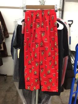 Boy's Offical NHL Ottawa Senators Sleepwear All Over Print P