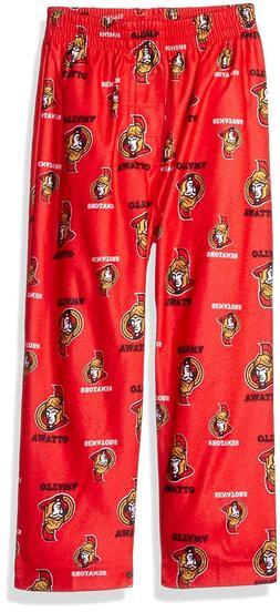 NHL Boys Ottawa Senators Sleepwear All Over Print Pajama Pan
