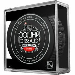 Cubed 2017 NHL 100 Classic Official Game Puck- Canadiens vs.