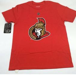 Erik Karlsson Ottawa Senators Reebok Boys T-Shirt Red Logo H