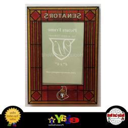Ottawa Senators Vertical 4x6 NHL Art-Glass Picture Frame -