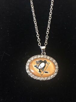 Hockey Necklaces, Ottawa, , Pittsburgh, Boston, Tampa Bay, N