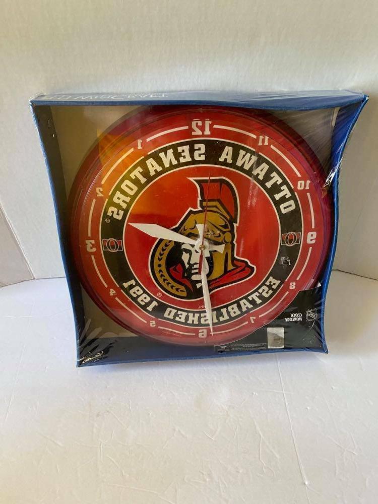 Brand NHL Ottawa Senators Wall Clock