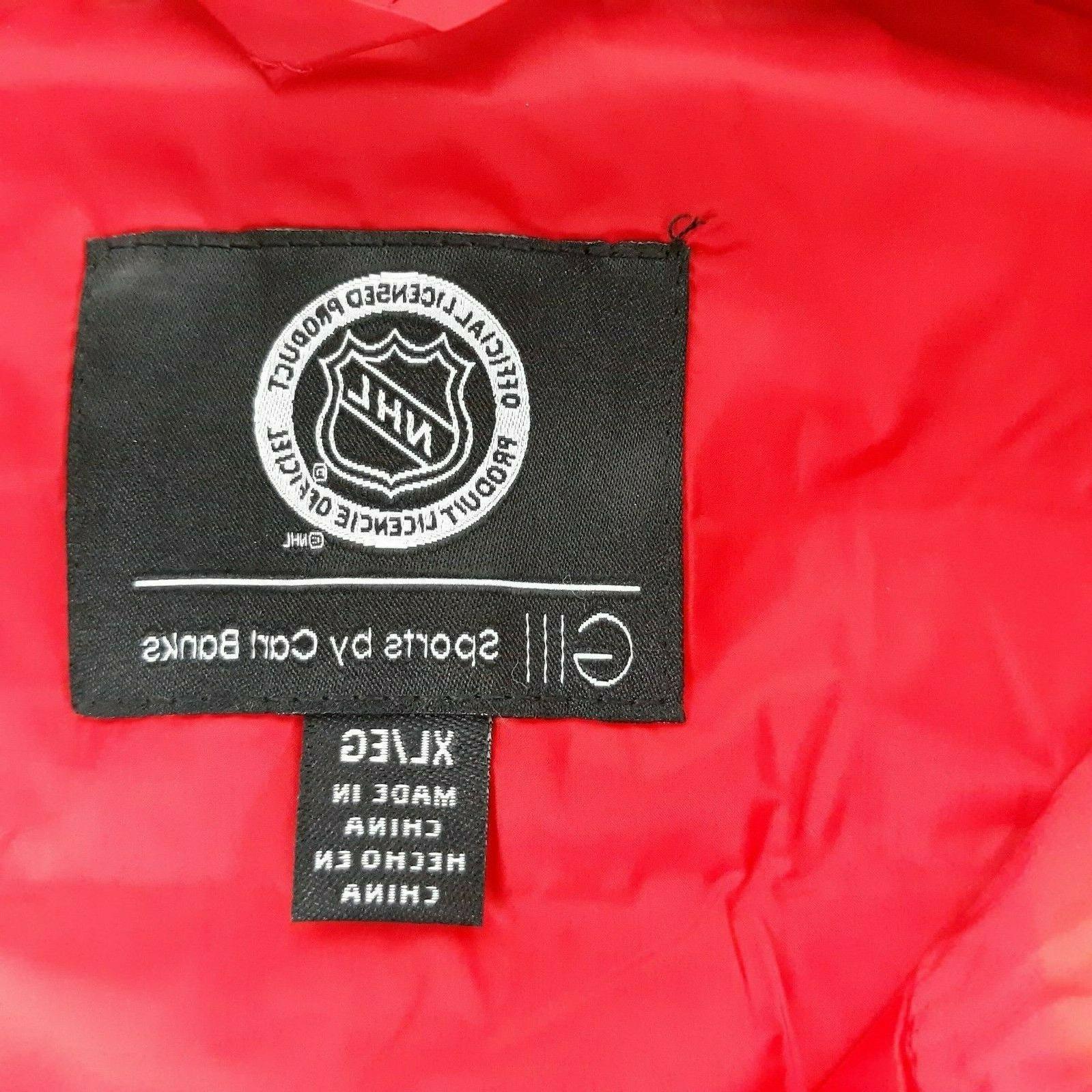 G-III Sports Senators Men's Puffer Coat Size