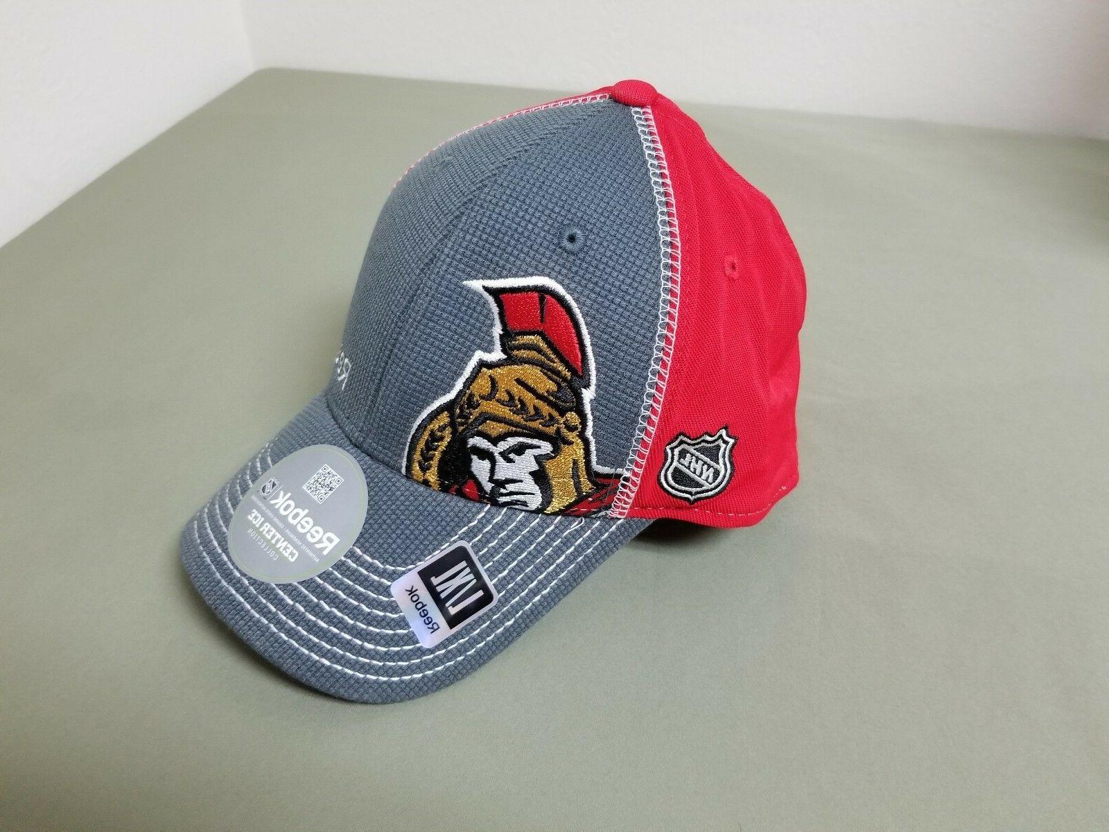 new nhl reebok ottawa senators baseball cap