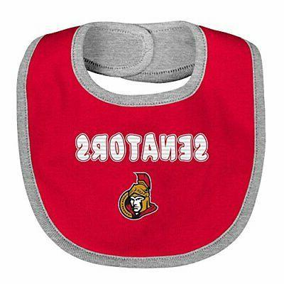 Outerstuff NHL Children Unisex 3Piece Bib Set, 1 S...