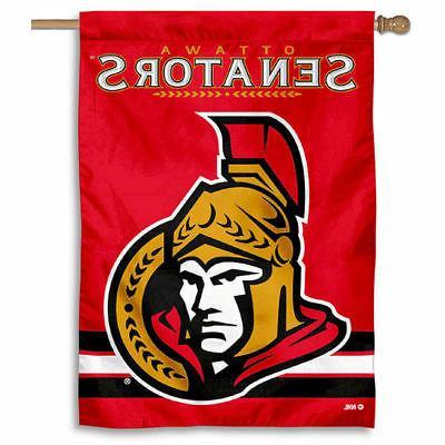 nhl ottawa senators house flag and banner