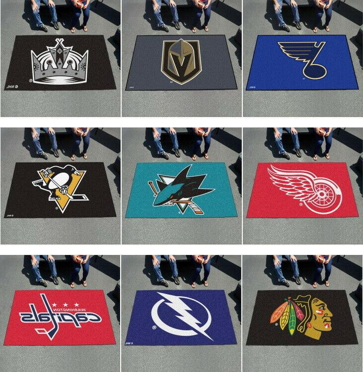 nhl ultimat area rugs 5 x 8