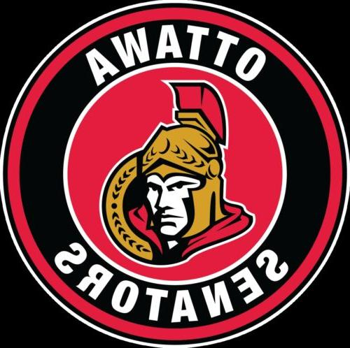 ottawa senators circle logo vinyl decal sticker