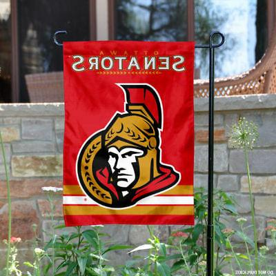 ottawa senators garden flag and yard banner