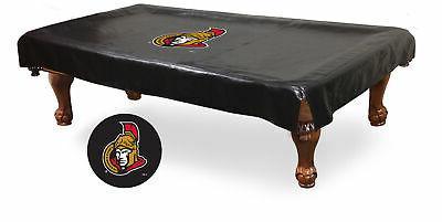 ottawa senators hbs black vinyl billiard pool