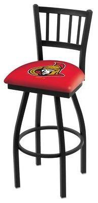 ottawa senators nhl 36 swivel bar stool