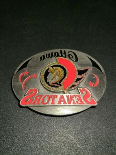 OTTAWA SENATORS NHL BELT BUCKLE LIMITED EDITION 704/5,000