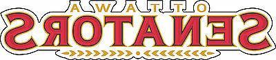 ottawa senators nhl hockey bumper sticker wall