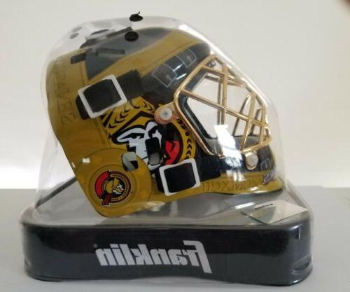 ottawa senators nhl hockey sports mini goalie