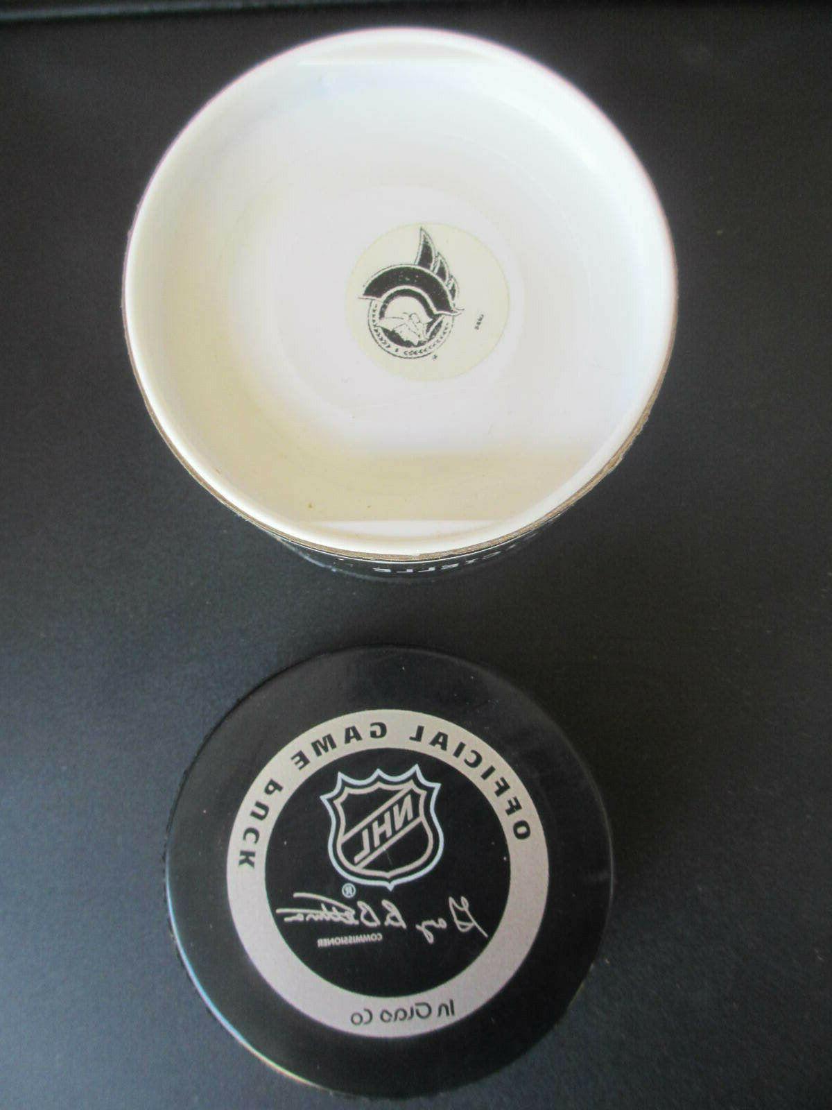 Ottawa Senators Official NHL Game Hockey Puck in Original Package