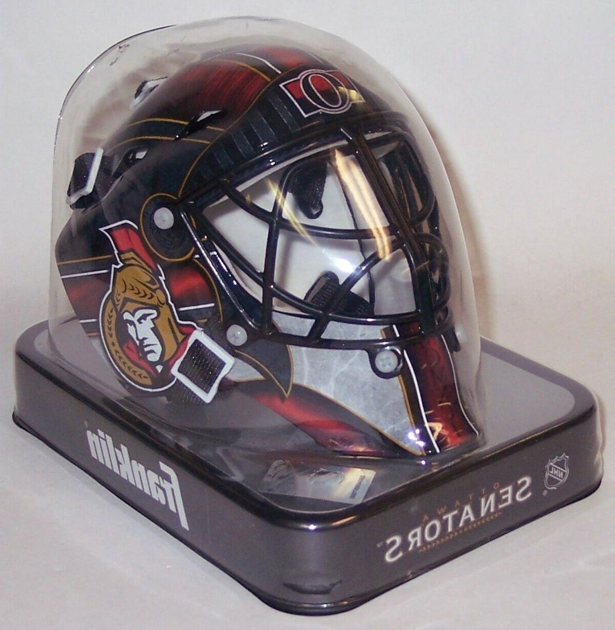 ottawa senators sports nhl mini goalie mask