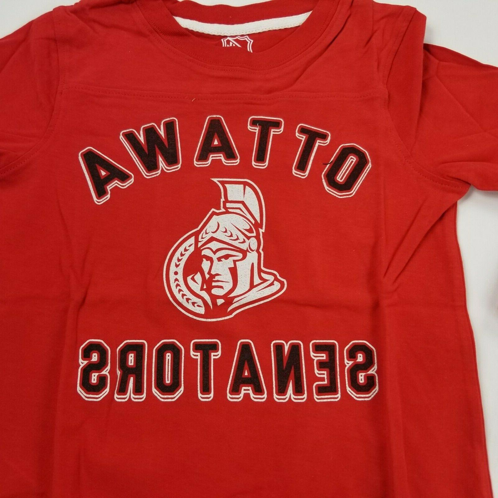 Ottawa Senators T Red Crew Neck 5/6 ffad