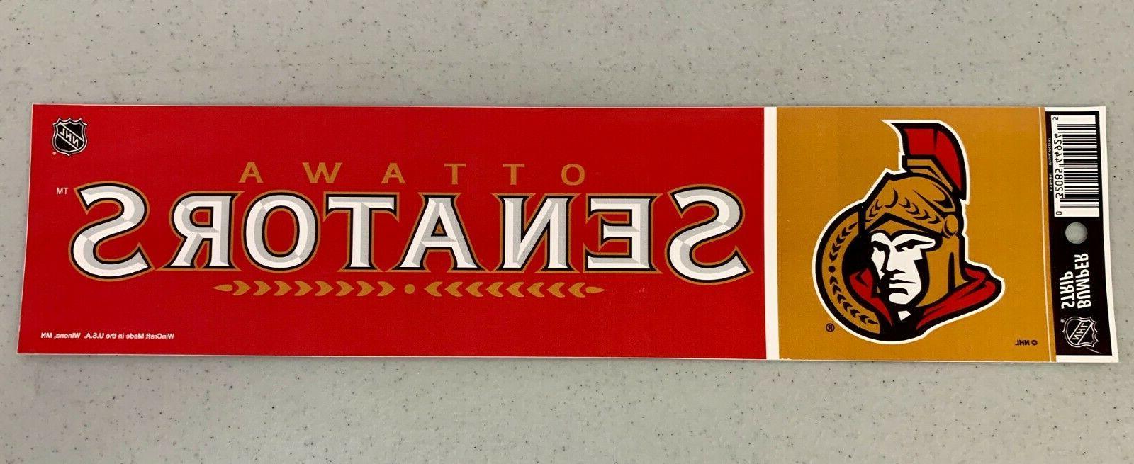 ottawa senators vibrant official team logo car