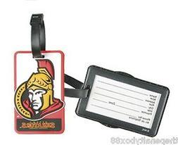 LUGGAGE TAG - OTTAWA SENATORS Logo NHL Hockey suitcase bag I