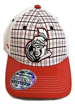 Zephyr Mens NHL Ottawa Senators Hockey Stretch Fit Hat Cap N