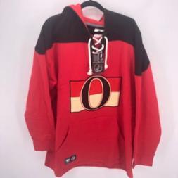 Mens XXL Ottawa Senators Breakaway Hoody Jersey Fanatics NHL
