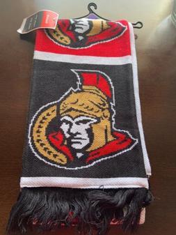 New Reebok NHL Ottawa Senators Men/Women Winter Scarf