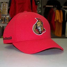 NEW! Ottawa Senators Adjustable Visor Logo Cap - Red