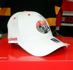 NEW! Ottawa Senators Fitted Visor Logo Cap - White
