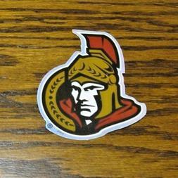 NEW Ottawa Senators NHL Logo Sticker Prismatic Hockey Decal