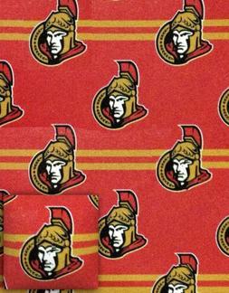 NHL Fleece Combo 2 Piece Pillow and Throw Ottawa Senators