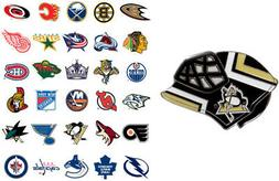 nhl goalie mask pin choose your team