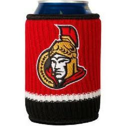 nhl hockey ottawa senators knit wool bottle