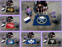NHL Licensed 5'X6' Tailgater Area Rug Floor Mat Carpet Man C