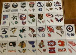 NHL Logo Hockey Decal Stickers Choose Your Team Pick From 31