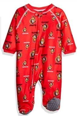Outerstuff NHL Ottawa Senators 3/6 Boys Sleepwear All Over P