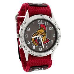 NHL Ottawa Senators Fastwrap Watch Adult Men's Red & Black A