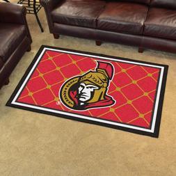 NHL Ottawa Senators Mat, 3'10 x 6'