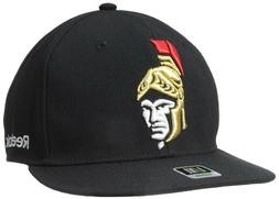 NHL Ottawa Senators Men's Flat Visor Flex Cap Oversized Logo