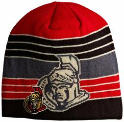 Reebok NHL Ottawa Senators Men's Winter Hat Beanie Knit Cap