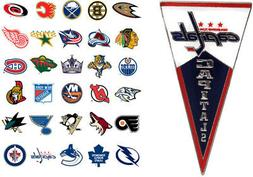 nhl pennant pin choose your team