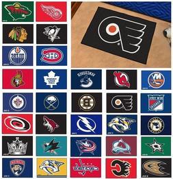 "NHL Teams - 19"" X 30"" Starter Area Rug Floor Mat"