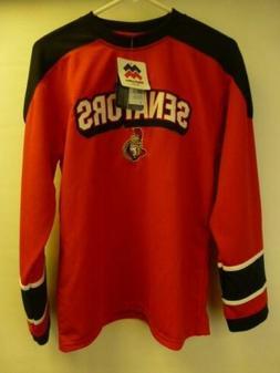 NWT Youth sz Large NHL OTTAWA Senators Mighty Mac Hockey red