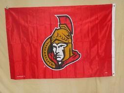 Ottawa Senators   3' x 5'  BANNER FLAG   by Rico    NEW!