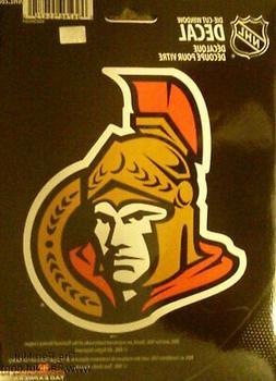"""Ottawa Senators 5"""" Vinyl Die Cut Decal Sticker Emblem NHL Ho"""