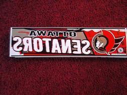 ottawa senators bumper sticker