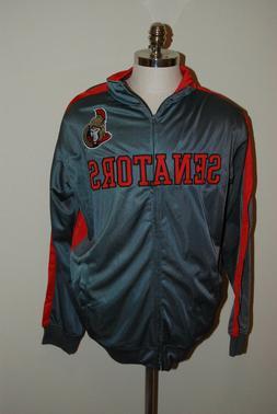 NHL Ottawa Senators Full Zip Track Jacket Coat  Men XL NWT S