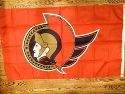 ottawa senators huge 3x5 flag banner indoor